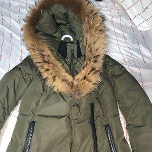 Mackage Adali Olive green winter jacket